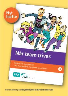 Flyer: Når team trives