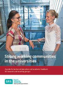 Strong working communities in the universities